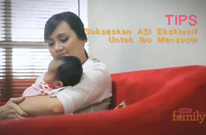 Sukseskan ASI eksklusif Untuk Ibu Menyusui